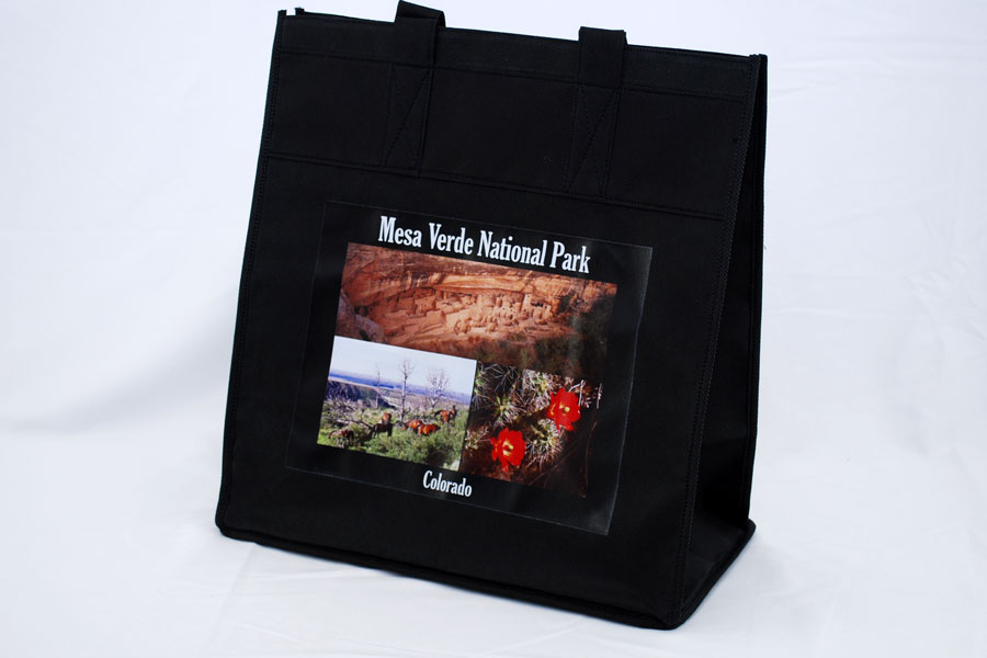 Custom printed digital printing non-woven reusable bag