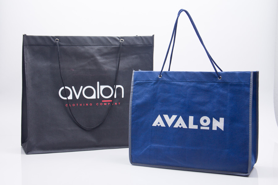 Custom printed reusable bag - Avalon Clothing