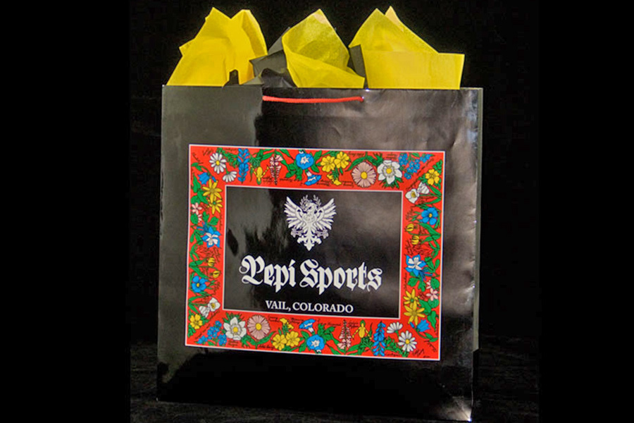 Custom 4 Color Process Printed Paper Eurotote Bag - Pepe Sports