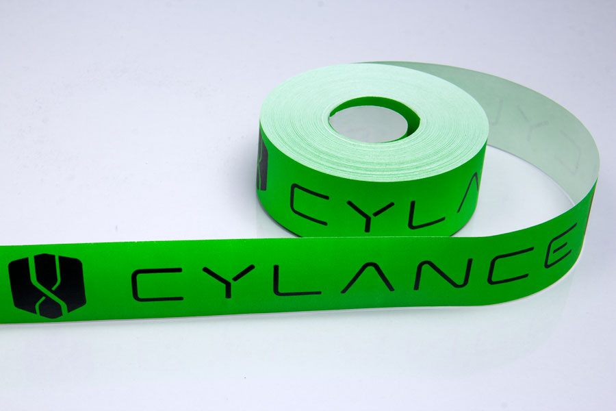 Custom Ink Printed Paper Shipping Tape - Vyclance
