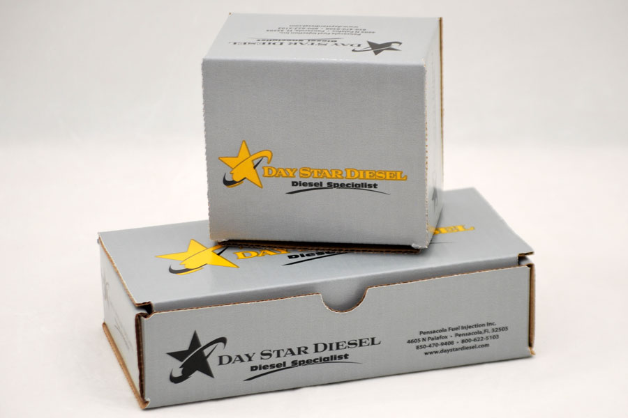 Custom Corrugated Shipping Box - Day Star