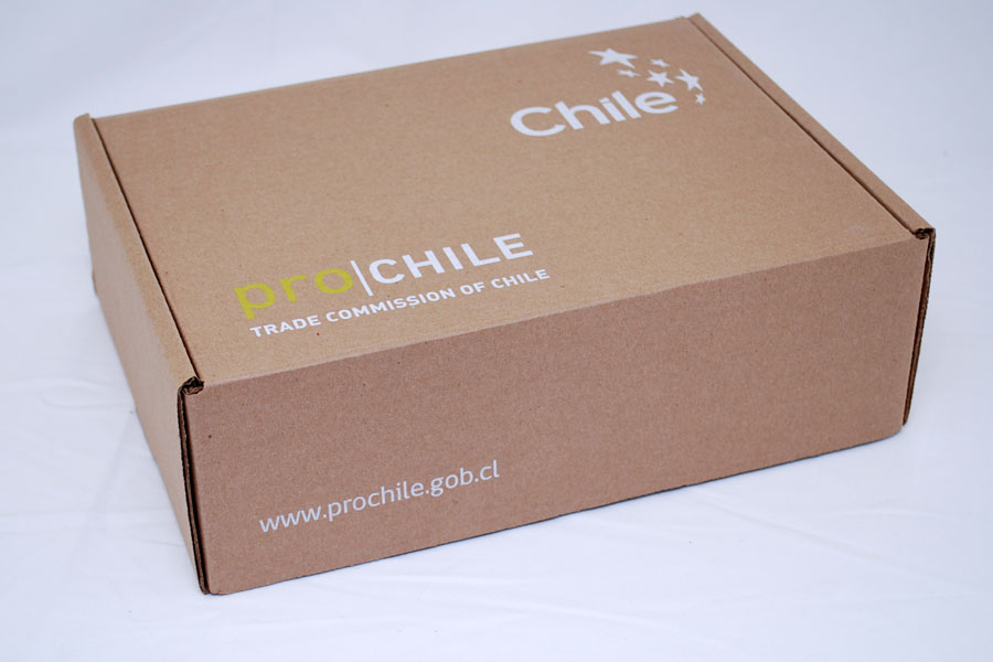 Custom Corrugated Ink Printed Natural Krafy Shipping Box - ProChile