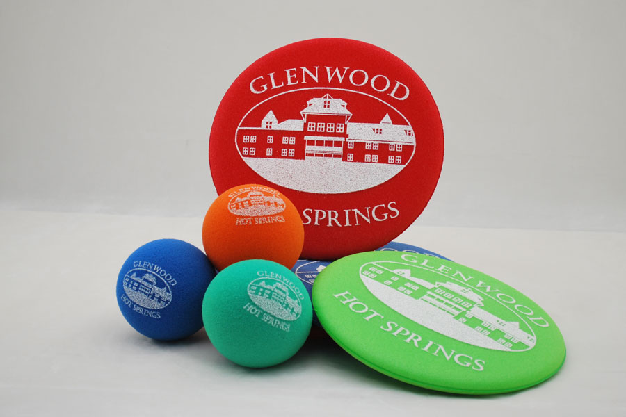 Custom Ink Printed Promotional Foam Balls - Glenwood Springs