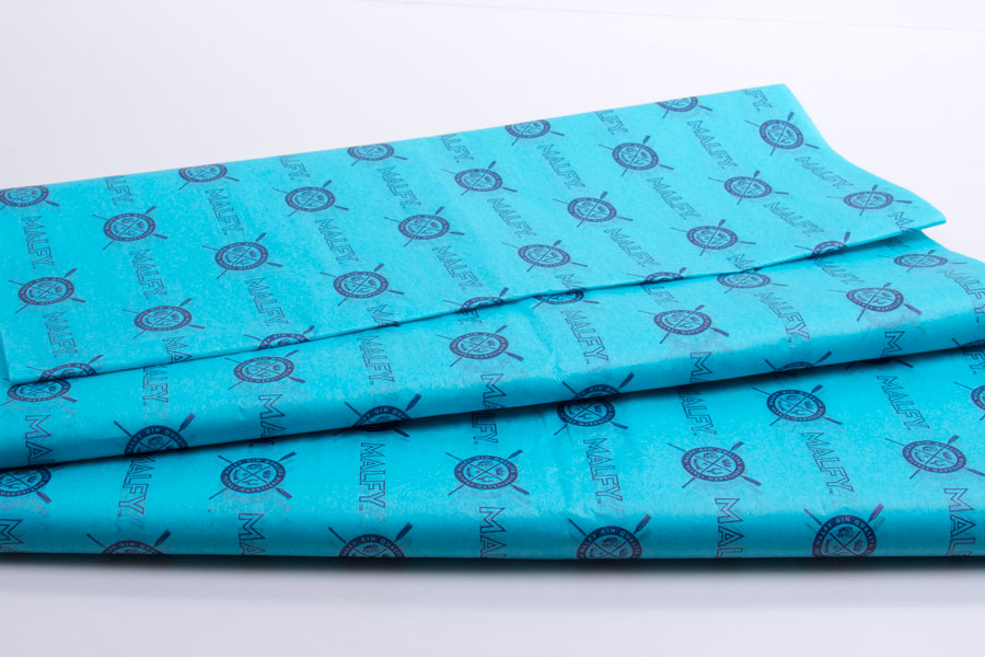 Custom Ink Printed Tissue Paper - Malfy Gin