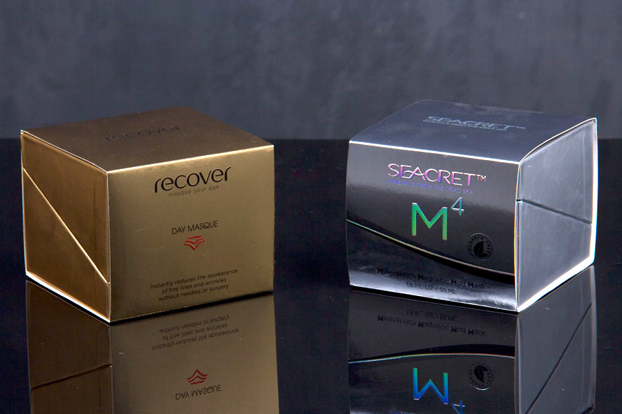 Custom Printed Product Boxes with Hinged Lid - Seacret Spa International