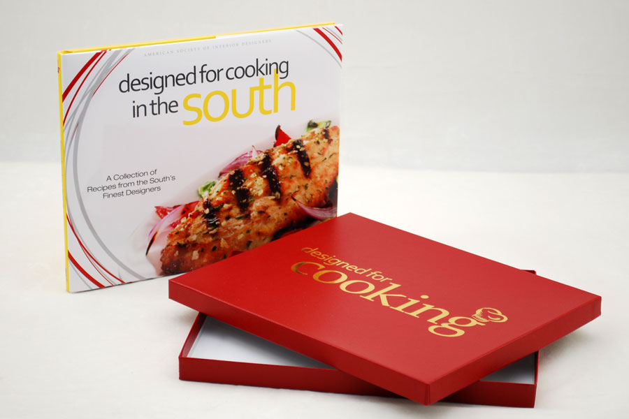 Custom book Gift Box Set - Designed for Cooking