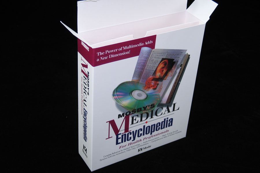 Custom Printed Product Box with Insert - Medical Encyclopedia