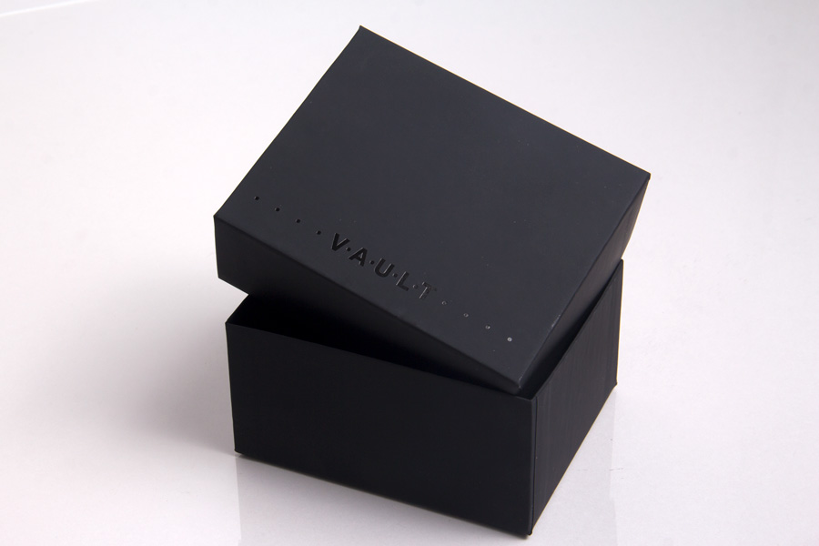 Custom Printed Soft Touch Giftware Boxes - Vault