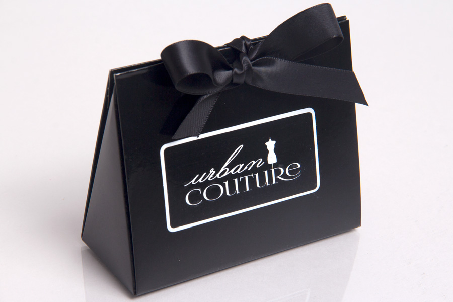 Custom Printed Puese Tote Giftware Boxes - Urban Couture