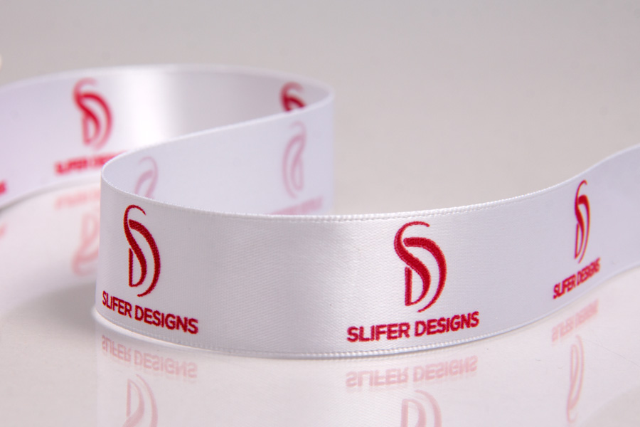 Custom Ink Printed Ribbon - Slifer Designs