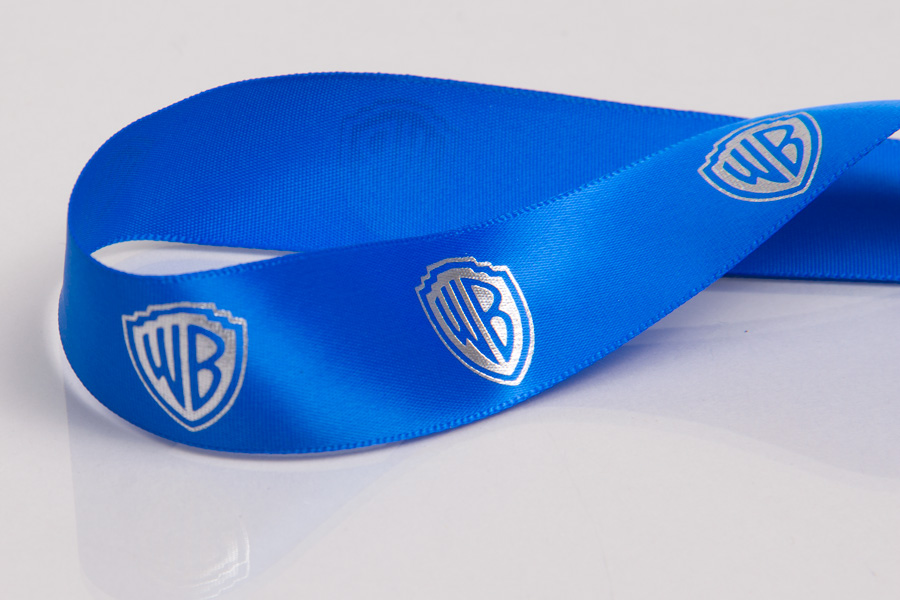 Custom Printed Ribbon with Hot Stamp Printing - Warner Brothers