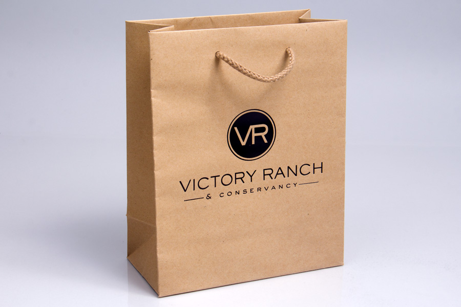Semi-Custom  Hot Stamp Paper Eurotote - Victory Ranch