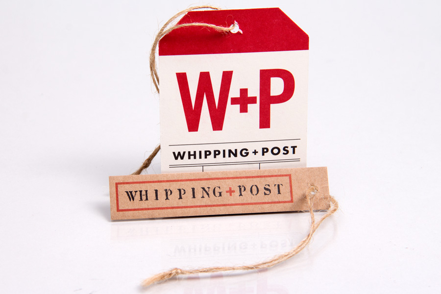 Custom Printed Hang Tags with jute string - Whipping Post