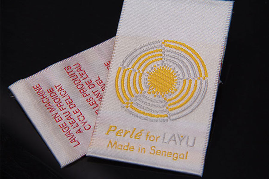 Custom Printed Embroidered Fabric Garment Clothing Tags - Layu