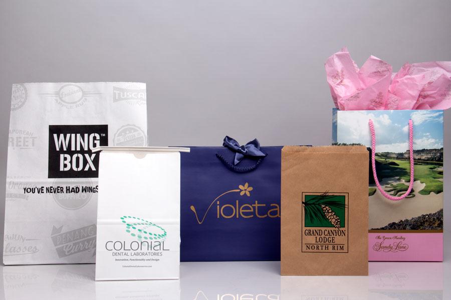 4b5154545 Custom Printed Shopping Bags | Paper, Plastic & Reusable Bags