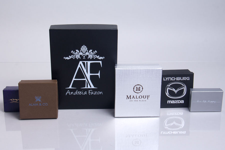 Custom Printed Jewelry Boxes