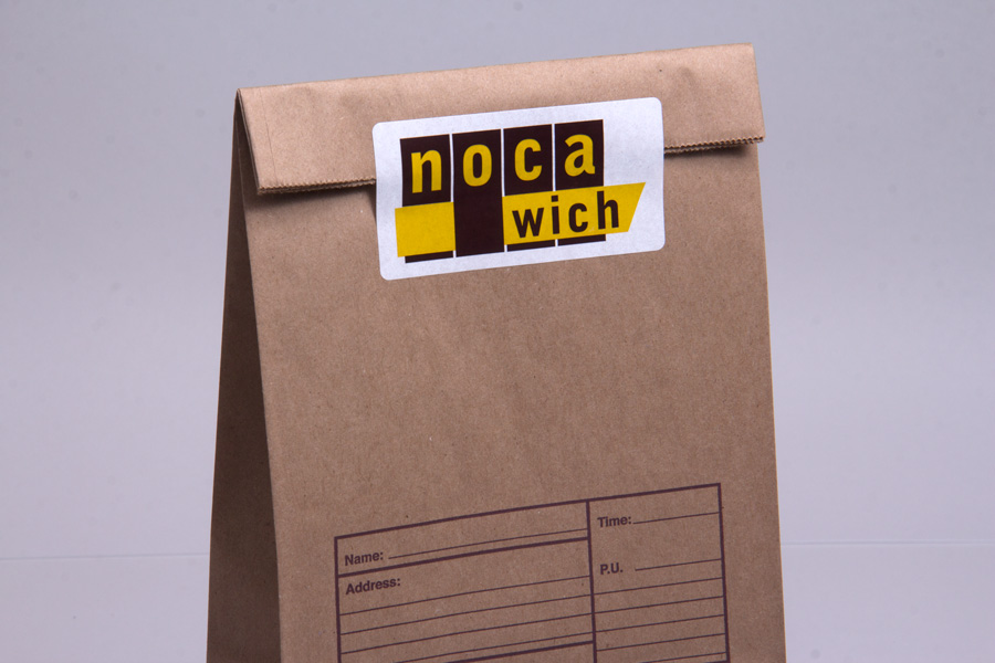 Custom Ink Printed Labels - Noca