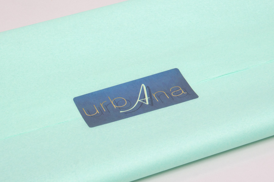 Custom Digitally Printed Labels - UrbAna