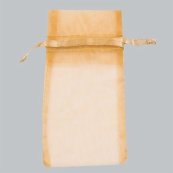 6 x 14 GOLD SHEER ORGANZA POUCHES