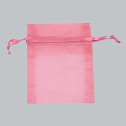 3 x 4 FRUIT PUNCH SHEER ORGANZA POUCHES