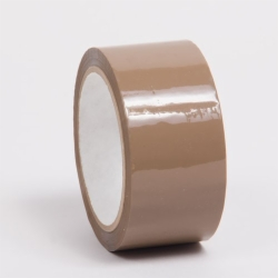 2 x 55YD TAN ADHESIVE PACKING TAPE