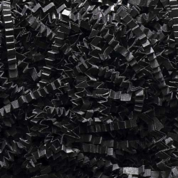 10 LB. BLACK CRINKLE CUT PAPER SHRED