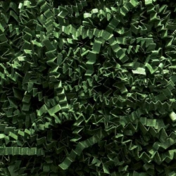 10 LB. FOREST GREEN CRINKLE CUT PAPER SHRED
