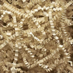 10 LB. IVORY CRINKLE CUT PAPER SHRED