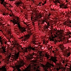 10 LB. RED CRINKLE CUT PAPER SHRED