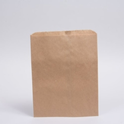 12 x 15 NATURAL KRAFT PAPER MERCHANDISE BAGS