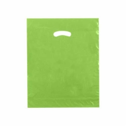 15 x 18 x 4 CITRUS GREEN SUPER GLOSS PLASTIC BAGS