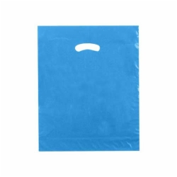 15 x 18 x 4 DARK BLUE SUPER GLOSS PLASTIC BAGS