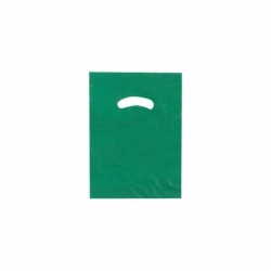 9 x 12 DARK GREEN SUPER GLOSS PLASTIC BAGS