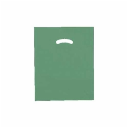 12 x 15 DARK GREEN SUPER GLOSS PLASTIC BAGS