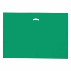 24 x 24 x 5 DARK GREEN SUPER GLOSS PLASTIC BAGS