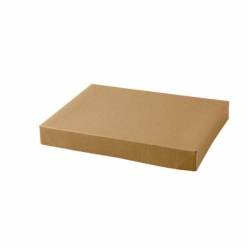 10 x 7 x 1.25 NATURAL KRAFT PINSTRIPE APPAREL BOXES