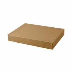 11.5 x 8.5 x 1.6 NATURAL KRAFT PINSTRIPE APPAREL BOXES