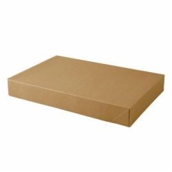 15 x 9.5 x 2 NATURAL KRAFT PINSTRIPE APPAREL BOXES