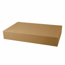 19 x 12 x 3 NATURAL KRAFT PINSTRIPE APPAREL BOXES