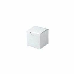 2 x 2 x 2 WHITE GLOSS TUCK-TOP GIFT BOXES