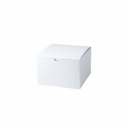 6 x 4.5 x 4.5 WHITE GLOSS TUCK-TOP GIFT BOXES