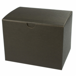 5 x 5 x 3 BLACK PINSTRIPE TUCK-TOP GIFT BOXES
