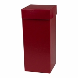 4 x 4 x 9 RED GLOSS HI-WALL GIFT BOX BASES