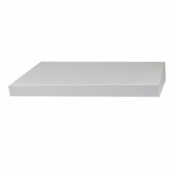 16 x 10 WHITE GLOSS HI-WALL BOX LIDS *BASES SOLD SEPARATELY*