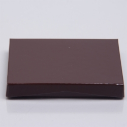 4-5/8 x 3-3/8 x 5/8 CHOCOLATE ICE GIFT CARD BOX WITH PLATFORM INSERT