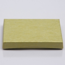4-5/8 x 3-3/8 x 5/8 CITRINE RIB GIFT CARD BOX WITH PLASTIC INSERT