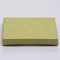 4-5/8 x 3-3/8 x 5/8 CITRINE RIB GIFT CARD BOX WITH PLATFORM INSERT