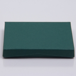 4-5/8 x 3-3/8 x 5/8 FOREST MATTE GIFT CARD BOX WITH PLATFORM INSERT
