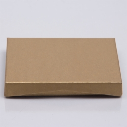 4-5/8 x 3-3/8 x 5/8 GOLD RIB GIFT CARD BOX WITH PLATFORM INSERT