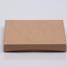 4-5/8 x 3-3/8 x 5/8 KRAFT WITH GIFT CARD BOX INSERT